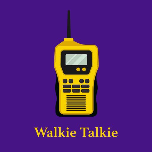 Walkie Talkie: Push to Talk: Two way communication icon