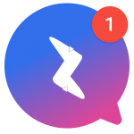 Free Messenger for Messages , Calls & Duo Accounts icon