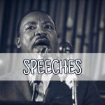 Martin Luther King speeches icon