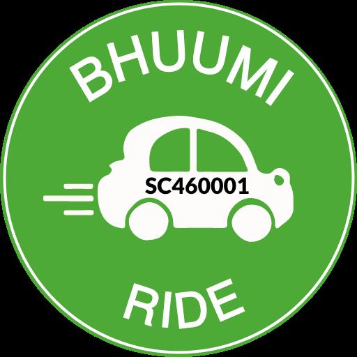 BHUUMI Ride #1 Cab & Taxi Booking App icon
