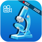 Microscope HD Zoom Camera icon