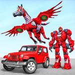 Horse Robot Jeep Games - Transform Robot Car Game icon