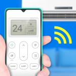 air conditioner Universal remote - remote ac icon