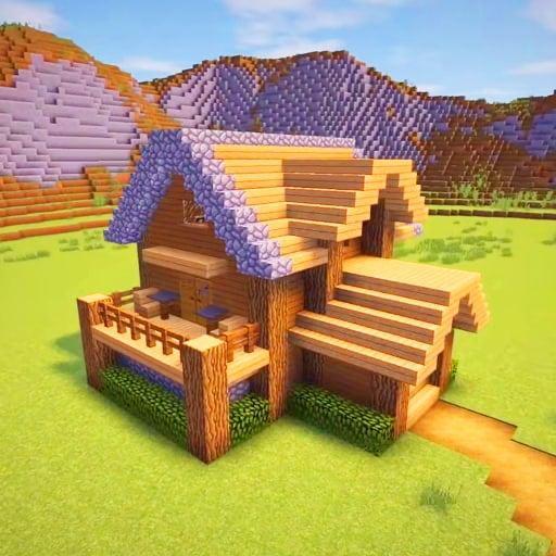 Craft Skyland 3D - Master Block Craft Game 2021 icon