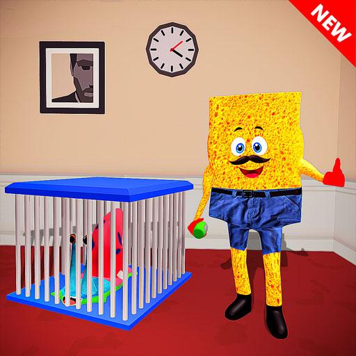 Sponge Squid Neighbor Escape icon