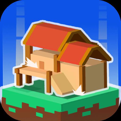 Block Building 3D icon