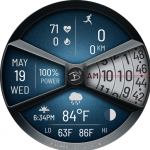 B Sharp Watches - B# - In Rotation HYBRID icon