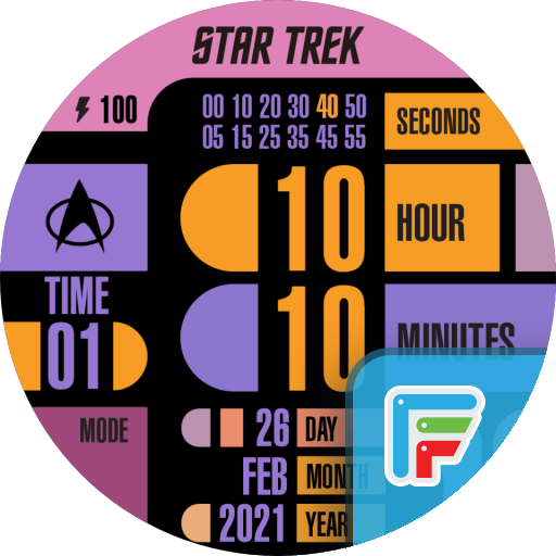 LCARS 2.0: Official STAR TREK icon