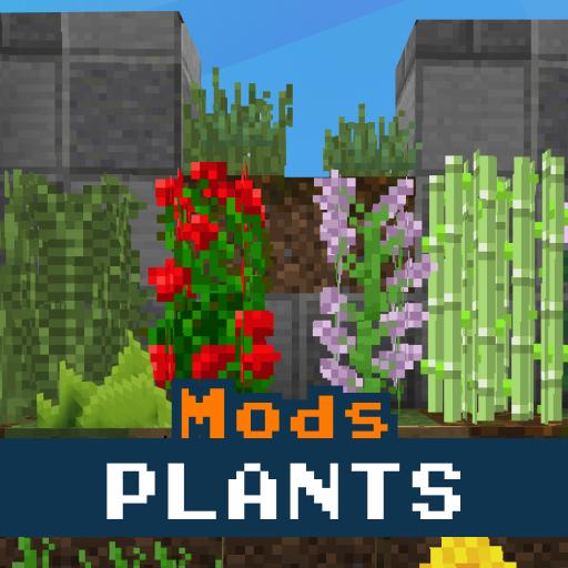 Plants Mod for Minecraft PE icon