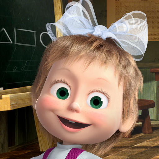 Masha and the Bear: Kids Games icon