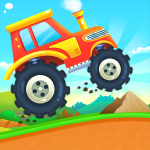 MonsterTruck Car Game for Kids Mod Apk Unlimited Android