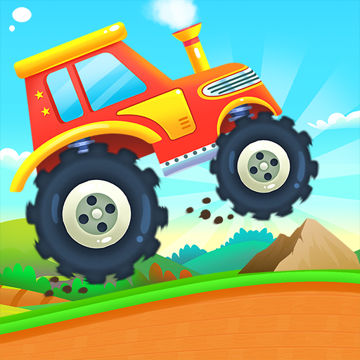 MonsterTruck Car Game for Kids icon