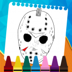 Coloring Game For Friday The 13th Mod Apk Unlimited Android