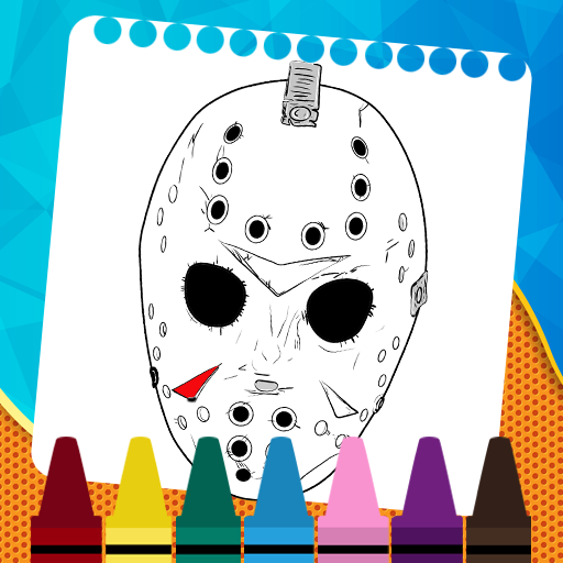 Coloring Game For Friday The 13th icon