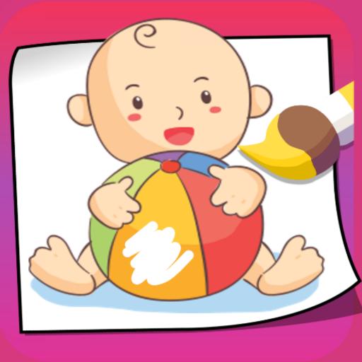Toddler Games - Baby Art icon