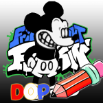 FNF Suicide Mouse Mod: Draw One Part Mod Apk Unlimited Android